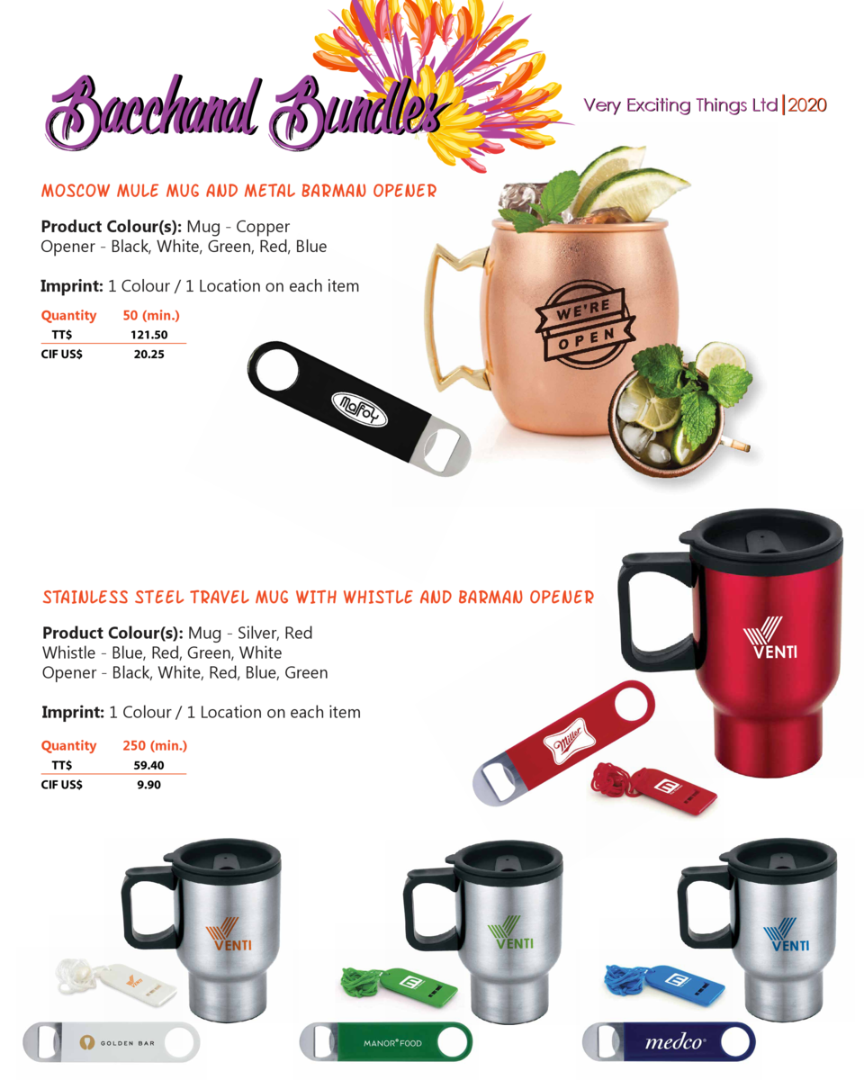 Bacchanal Bundles  Very Exciting Things Ltd 2020  MOSCOW MULE MUG AND METAL BARMAN OPENER Product Colour s   Mug - Copper ...