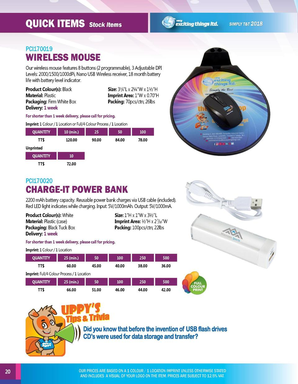 quick items  quick items  Stock Items  Stock Items  PCI170019  PCI170021  Our wireless mouse features 8 buttons  2 program...