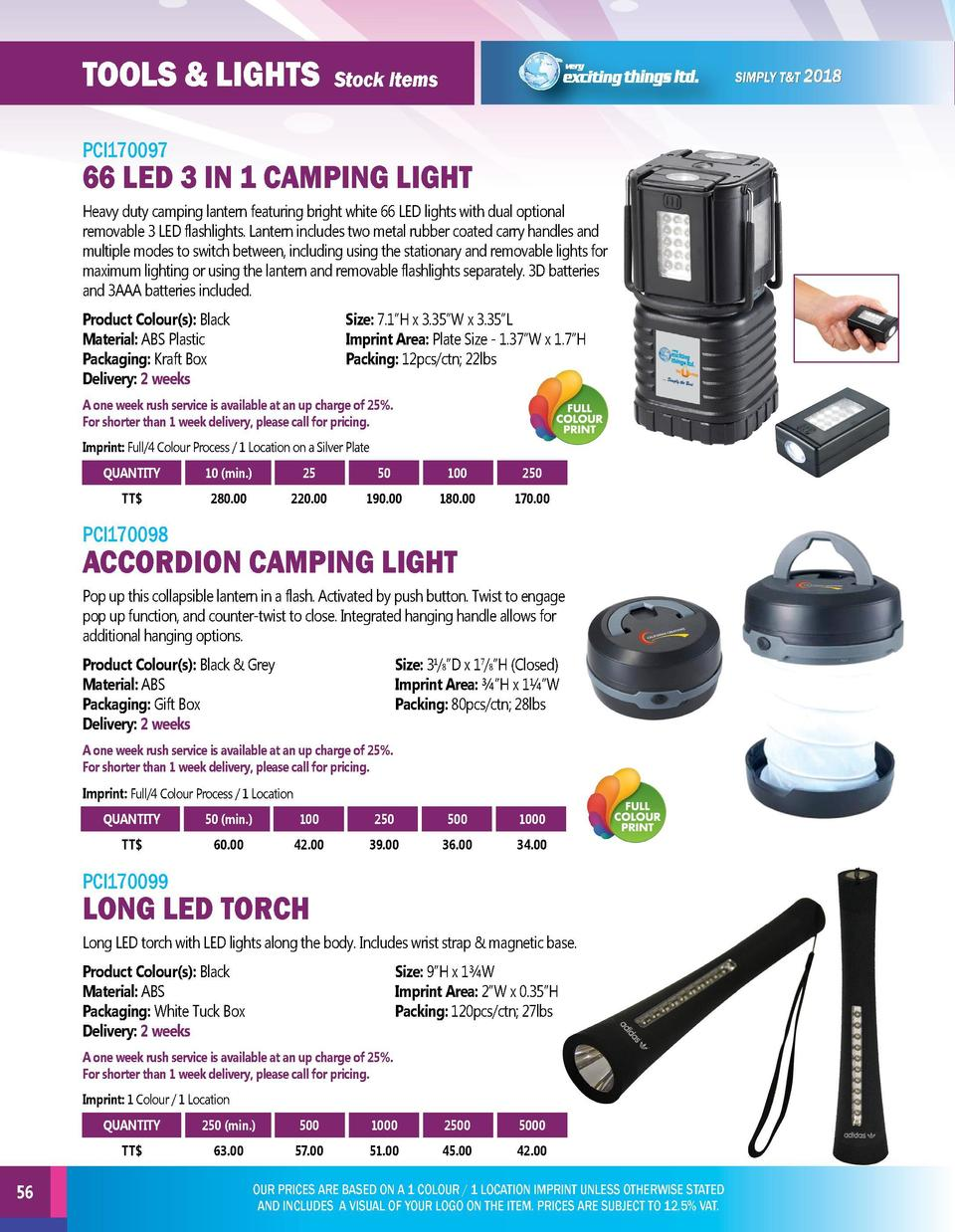 TOOLS   LIGHTS  writing instruments  Stock Items  Stock Items  PCI170097  PCI170100  Heavy duty camping lantern featuring ...
