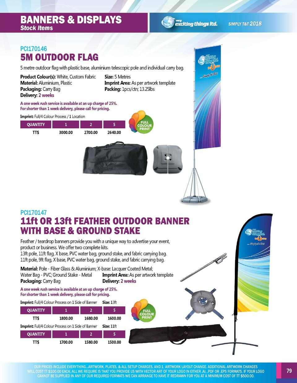 BANNERS   DISPLAYS  BANNERS   DISPLAYS  PCI170144  PCI170146  Make a strong impact on potential and existing customers wit...