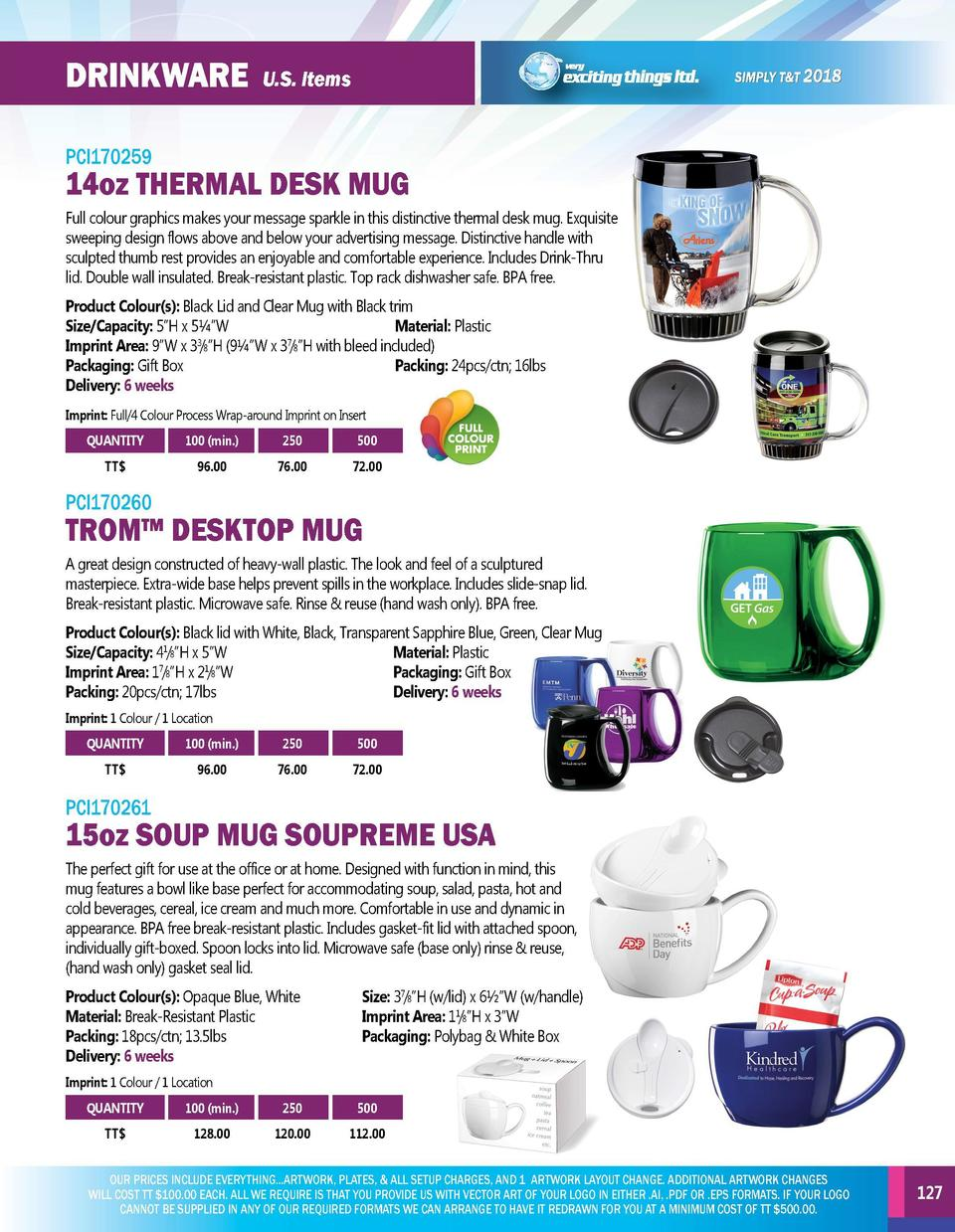 DRINKWARE  DRINKWARE  U.S. Items  PCI170256  PCI170259  Clear 16oz mug comes with a 5 light base featuring 5 super-bright ...