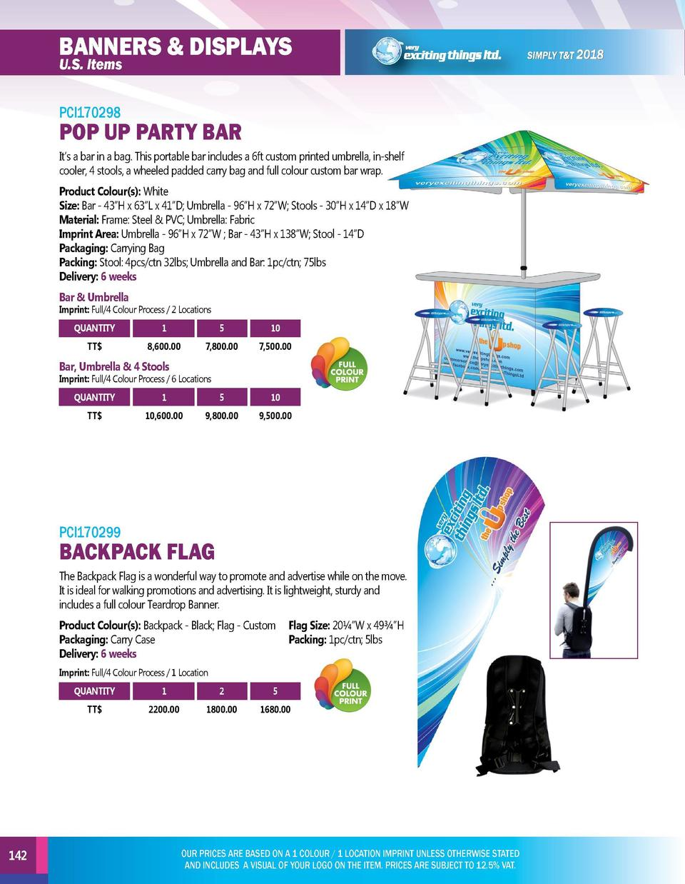 BANNERS   DISPLAYS U.S. Items  CUSTOM PARTY BEER PONG TABLE  POP UP PARTY BAR It   s a bar in a bag. This portable bar inc...