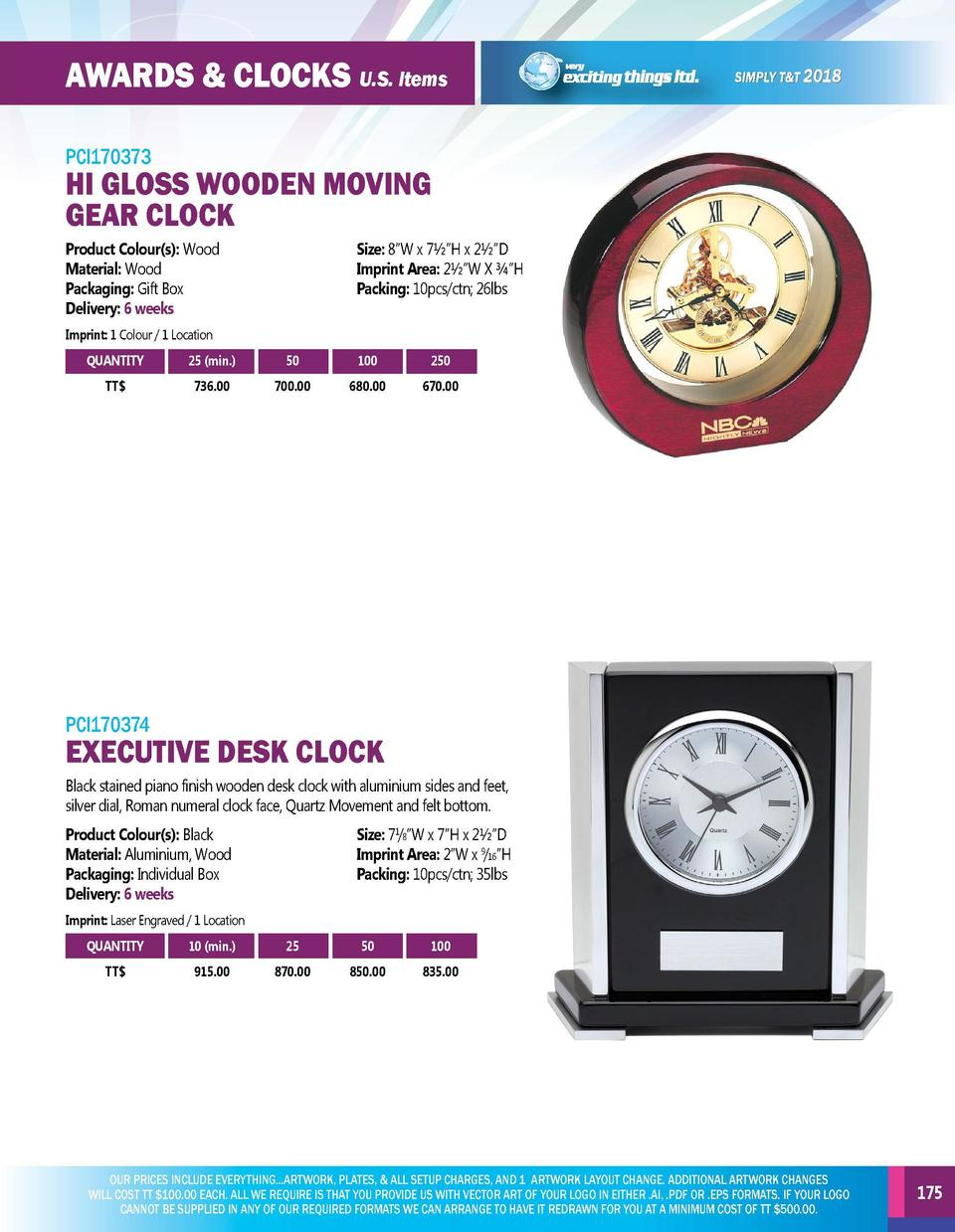 AWARDS   CLOCKS U.S. Items  AWARDS   CLOCKS U.S. Items  PCI170371  PCI170373  LEXUS AWARD  HI GLOSS WOODEN MOVING GEAR CLO...