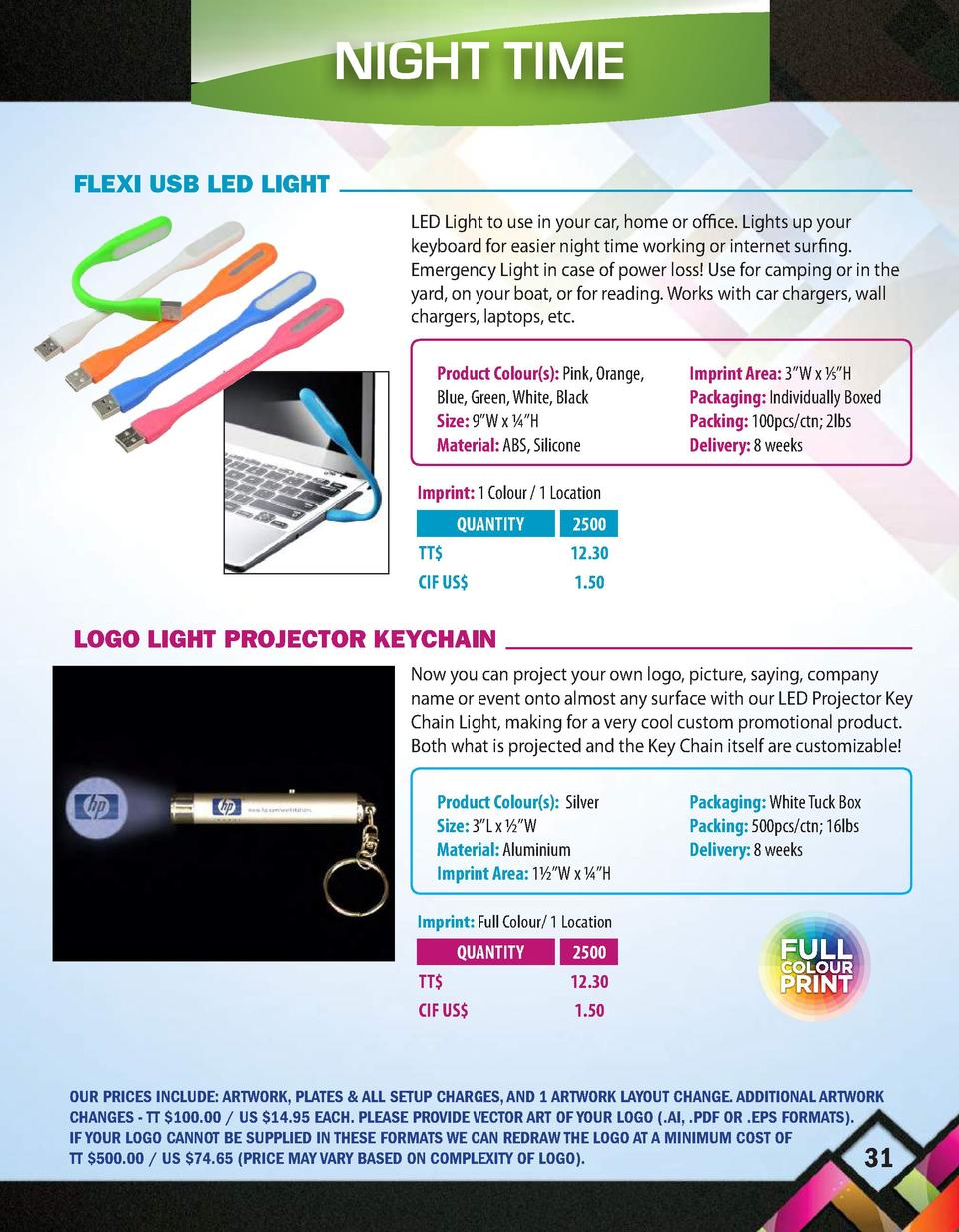 NIGHT TIME BAND ON FLEXI USB LED LIGHT LED Light to use in your car, home or office. Lights up your keyboard for easier ni...