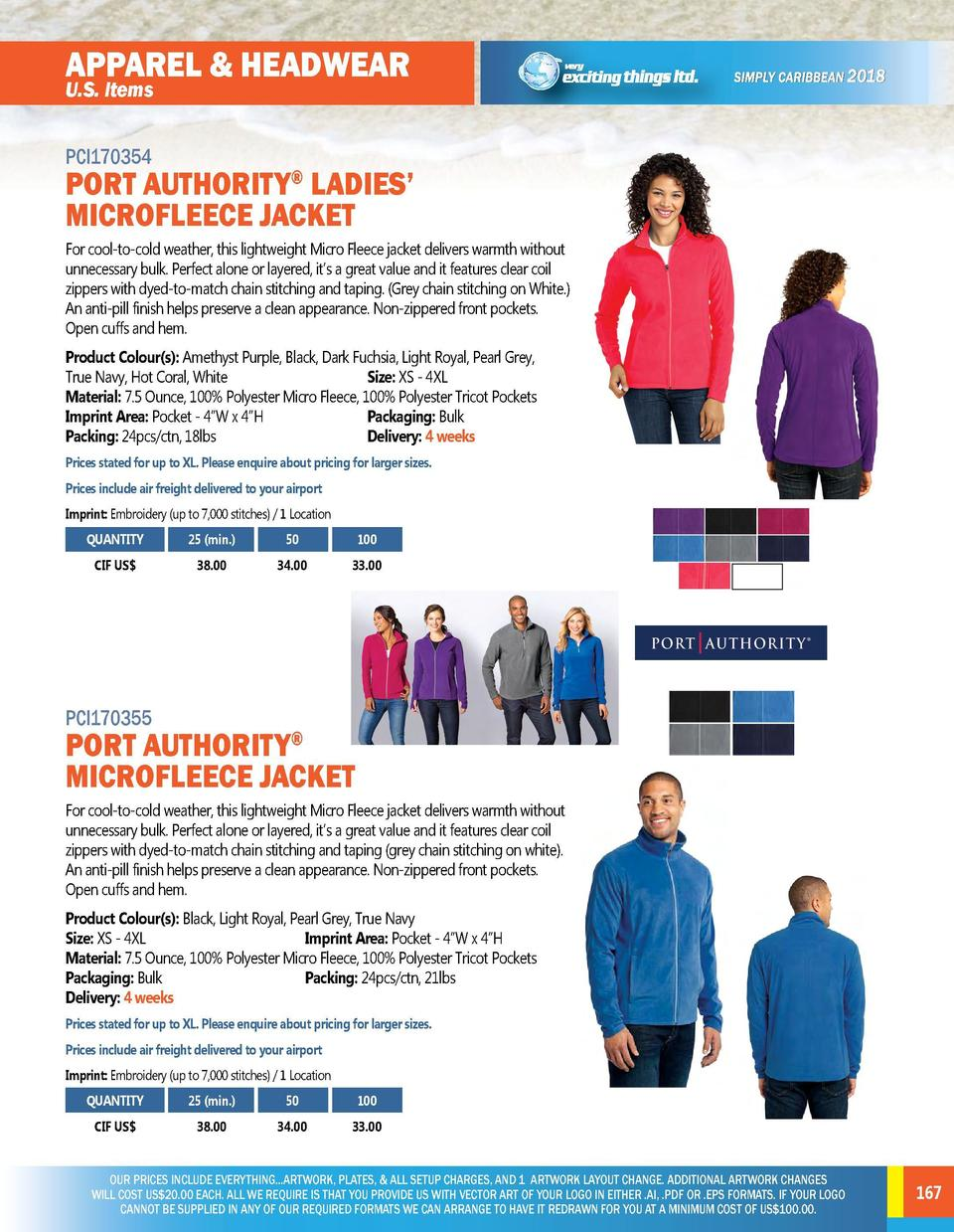 APPAREL   HEADWEAR  APPAREL   HEADWEAR  PCI170352  PCI170354  U.S. Items  PORT AUTHORITY LADIES    CORE SOFT SHELL JACKET ...