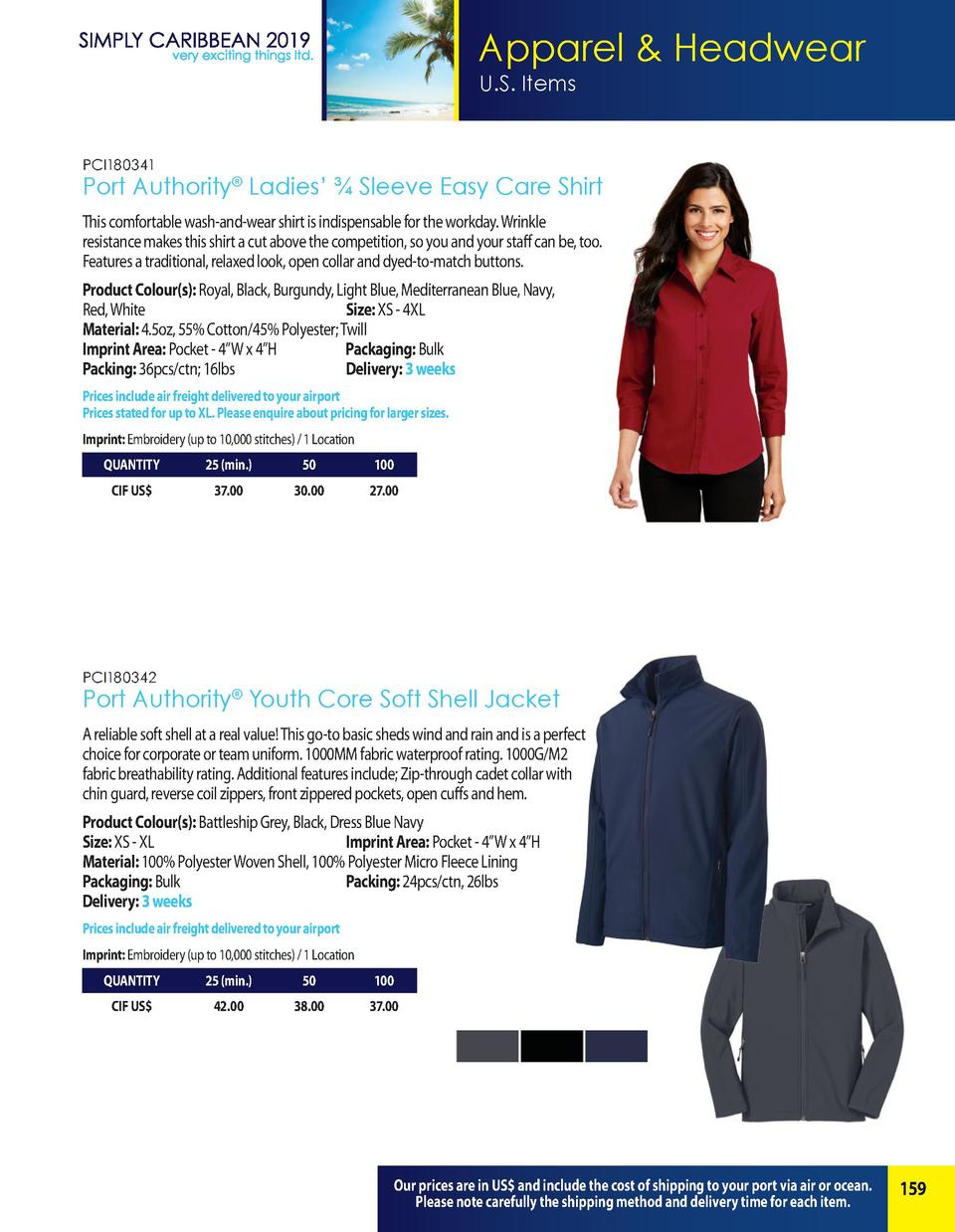 Apparel   Headwear U.S. Items  PCI180341  Port Authority   Ladies       Sleeve Easy Care Shirt This comfortable wash-and-w...