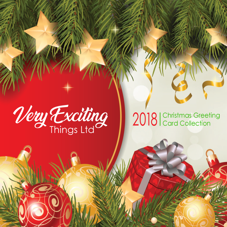 Very Exciting Things Ltd  2018  Christmas Greeting Card Collection